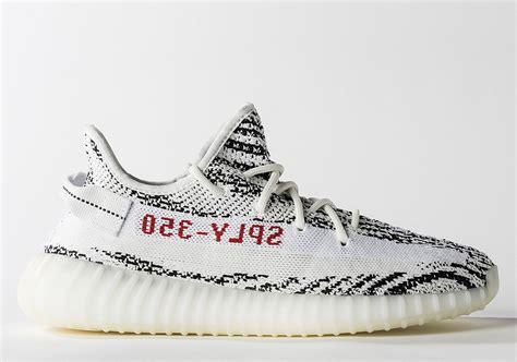 Adidas Yeezy Zebra yeezy boost 350 v2 zebra cp9654 release date sneakernews