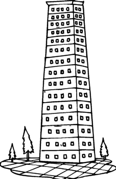 apartment building coloring page city buildings 2 apartment building coloring pages by