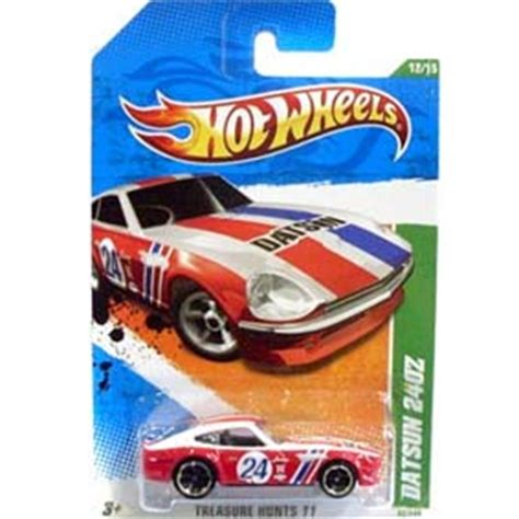 Wheels Datsun 240z Treasure Hunt 2011 miniaturas de carros ve 237 culos miniatura carrinhos de cole 231 227 o arte em miniaturas