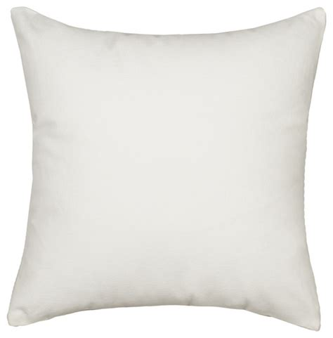 Modern Accent Pillows Solid White Accent Throw Pillow Cover Contemporary