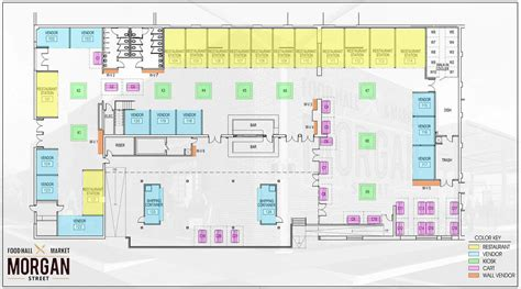 layout of marketplace mall morgan street food hall market raleigh s 1 newest