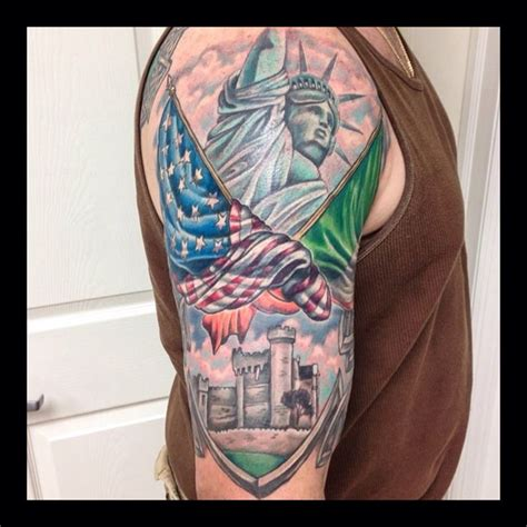irish american tattoos 25 trending half sleeve tattoos ideas on half