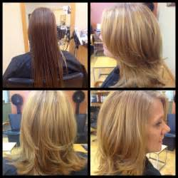 how to cut medium length hair in layers malisa957 medium length haircut with long layers and side