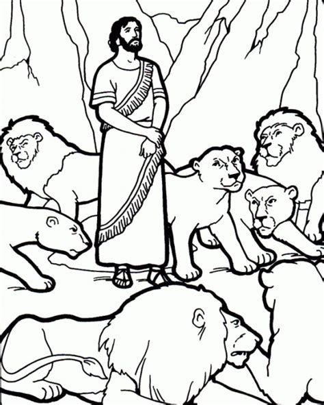 Animals In The Bible Printable Coloring Pages Daniel And The Coloring Pages