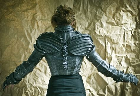 How To Make Paper Mache Armor - cardboard joan of arc armor the sue