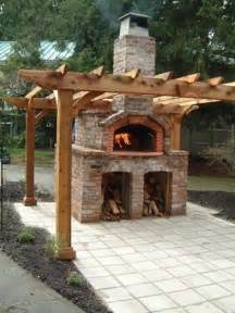 Backyard Oven by Outdoor Pizza Oven Landscaping Network