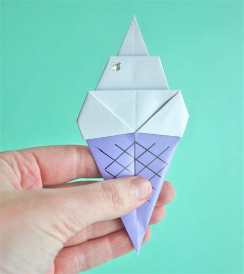 Origami One - kawaii origami tutorials kao ani
