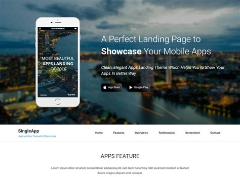 best pager 17 best free landing page themes and templates 2018