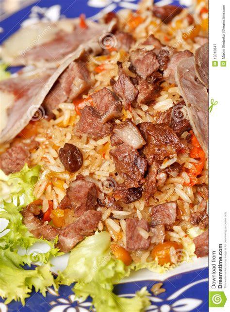 uzbek national dish uzbek national dish royalty free stock photography image