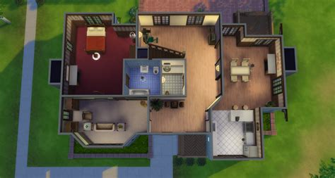 pleasant house my sims 4 blog the pleasant family and house broke house from ts2 by simsza