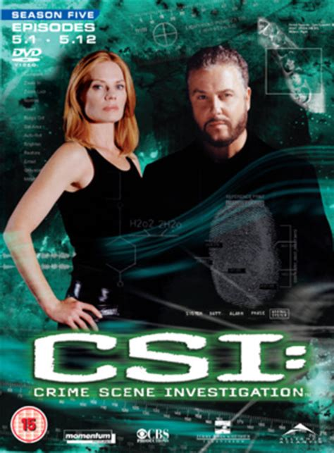 Csi Background Check Csi Crime Investigation Las Vegas Season 5 Part 1 Dvd Ebay