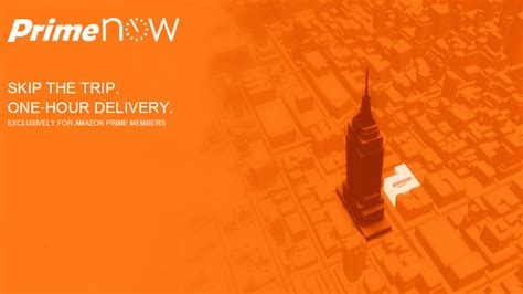 prime now skip the trip one hour delivery app