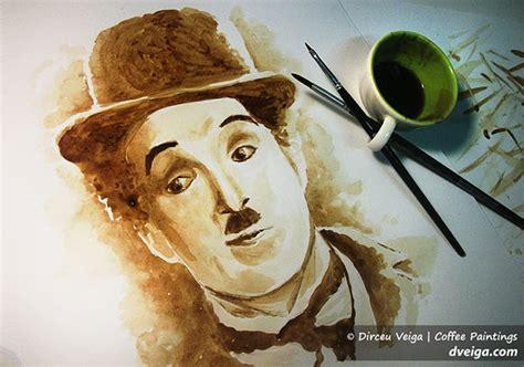 Lukisan Kopi Artwork Coffee 1 beautiful paintings made with coffee artist dirceu veiga