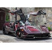 Red Carbon Fiber Pagani Huayra BC Dubbed The Kingtasma