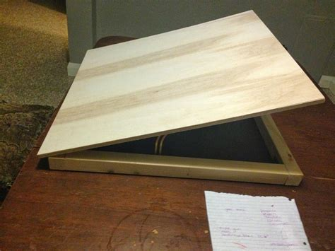Pandora S Box Of Diy Portable Drafting Table Diy Drafting Desk