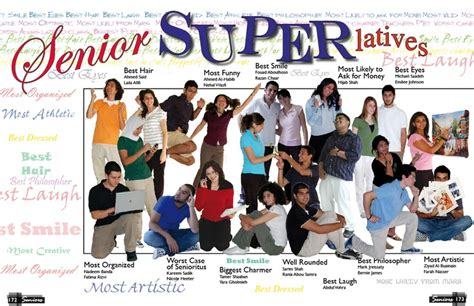 yearbook superlatives layout 10 cover designs quot senior superlatives quot most likely to be