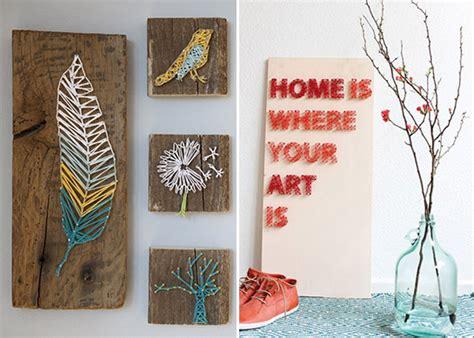 diy home design ideen nagel und faden bilder diy