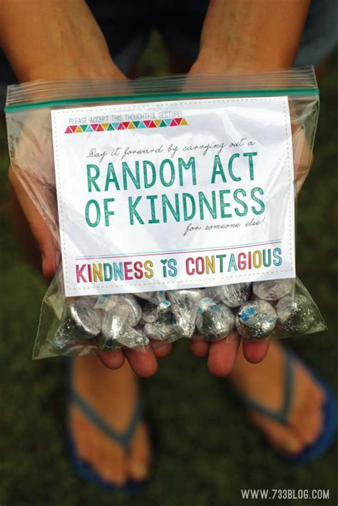 7 Great Acts Of Kindness You Can Copy by Random Acts Of Kindness Ideas And Free Printable