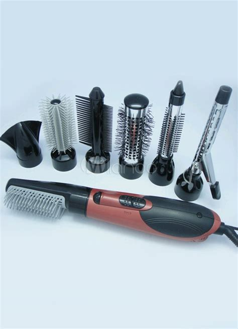 Hair Dryer With Brush Attachment Boots 7 attachment all in one air hair brush styler dryer