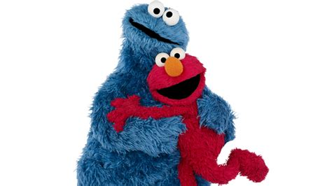 Baby Cookie Monster And Elmo Wallpaper