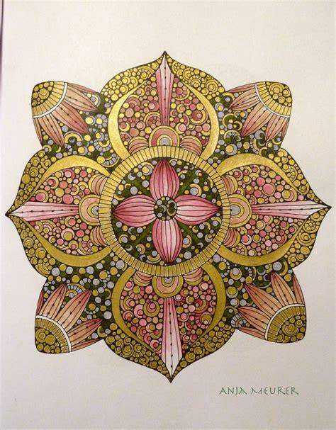 libro creative coloring mandalas art picture from creative coloring mandalas by valentina harper colouring anja meurer my colours