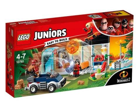 lego 10761 juniors: la grande fuga dalla casa juniors san