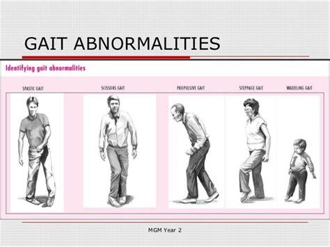 gait pattern types history taking in neurology 2012