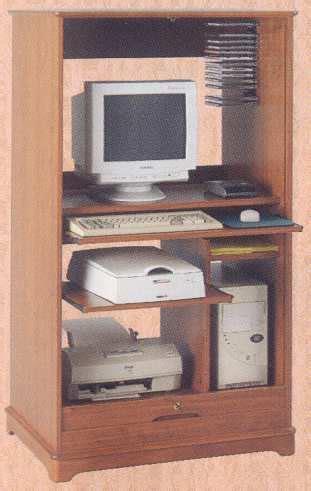 armoire informatique bois mobilier de bureau