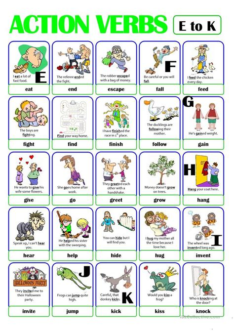 verbs picture cards www imgkid the image