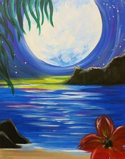 aloha party boat chicago paint and sip in logan square logan square pinot s palette