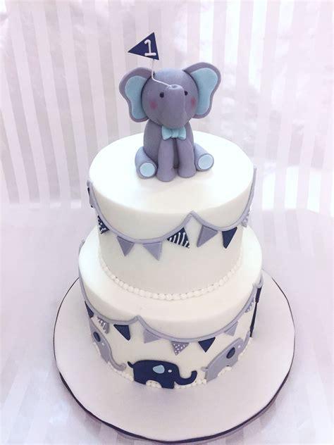 baby boy elephant st birthday cake sweet lias cakes treats   elephant birthday