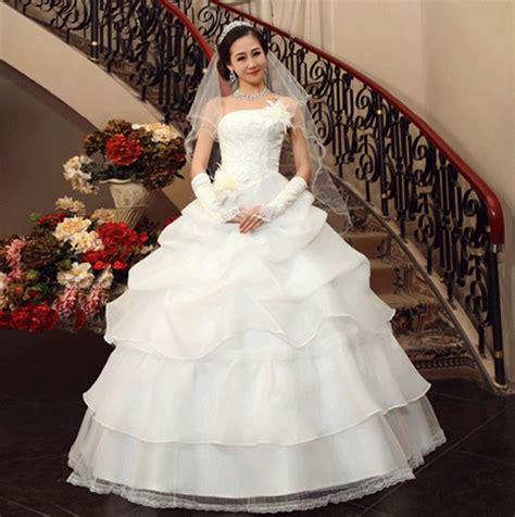 Gaun Pengantin Wedding 7 jual wedding dress gaun pengantin bunga besar korea 2015 arlandstore
