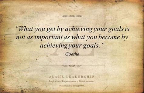 AL Inspiring Quote on Goals | Alame Leadership ...