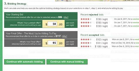 priceline bid hacking priceline a changer for bidding on hotels