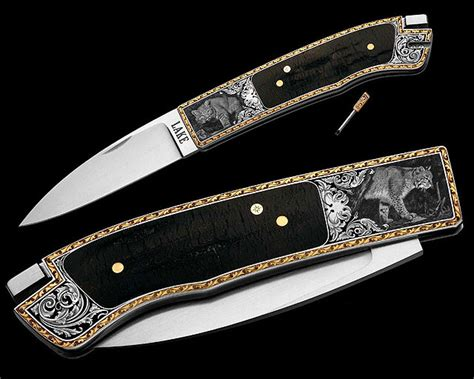 Lindsay Knife Might Cost Minnillo by Lake Made Knives Engraved By Steve Lindsay