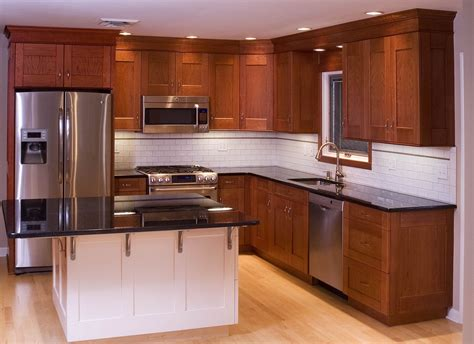 Custom Kitchen Cabinets by Hand Made Cherry Kitchen Cabinets By Neal Barrett