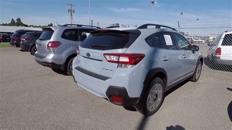 grey subaru crosstrek 2017 2018 subaru crosstrek cool gray khaki