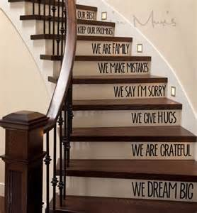 House Of Stairs Book by In This Home We Love Stairs Decal Awesome House And