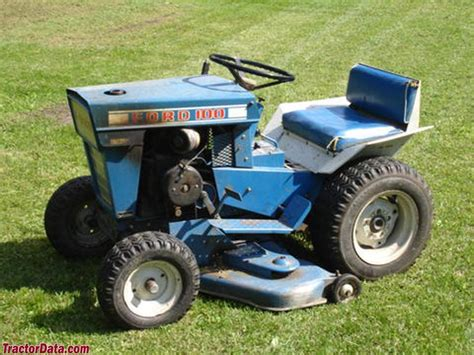 Ford Garden Tractor by Ford Lawn Tractor Parts Manual