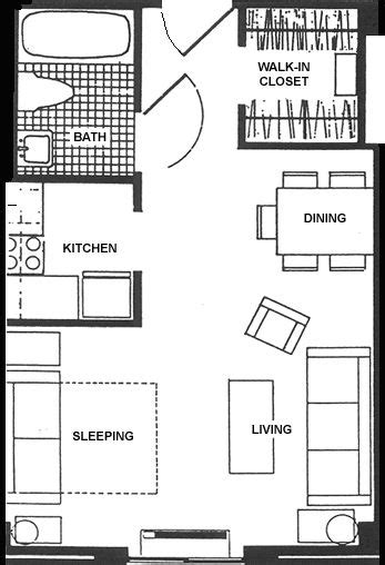 service apartment layout plan 25 best ideas about studio apartment layout on pinterest