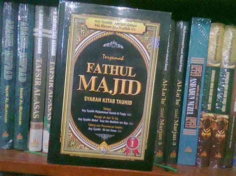 Syarah Kitab Tauhid Pustaka Imam Asy Syafii Rumah Dara fathul majid penjelasan kitab tauhid bukumuslim co