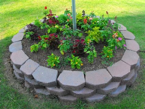 Flagpole Landscaping Ideas Landscaping Around A Flag Yard Landscape 6 Ideal Flagpole Landscaping Ideas Landscaping