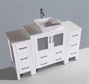 54 bathroom vanity cabinet 54 bosconi aw130s2s contemporary single vanity bathroom vanities bath kitchen and beyond