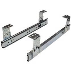 18 quot keyboard slide height adjustable zinc 61105