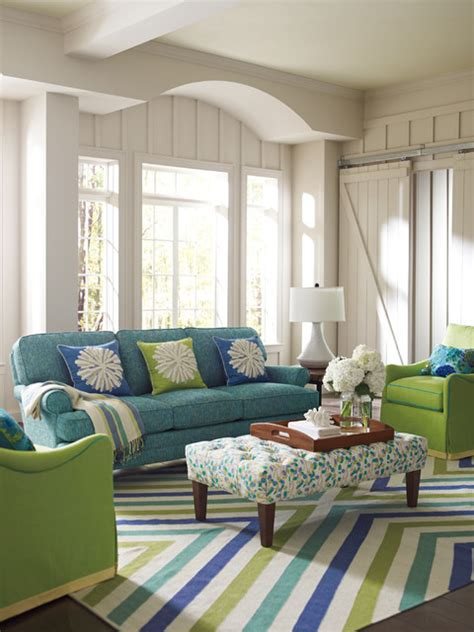 colorful rugs for living room chevron rug in capri blue living room boston by