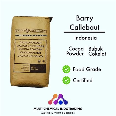 jual pure cocoa powder  barry callebaut bubuk coklat