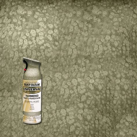 home depot rustoleum spray paint colors rust oleum universal 12 oz all surface hammered rosemary