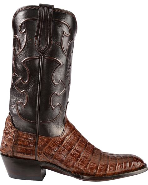 Lucchese Handmade Boots - lucchese s handmade 1883 charles crocodile belly