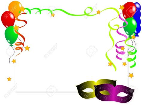 carnevale clipart carnival clipart ribbon pencil and in color carnival