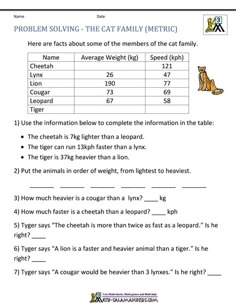math word problems for